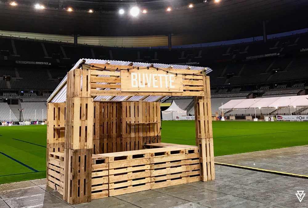Stands Triple-D Stade de France