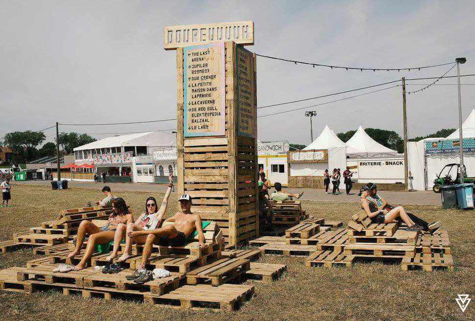 Signalétiques et Logos Triple-D Dour Festival