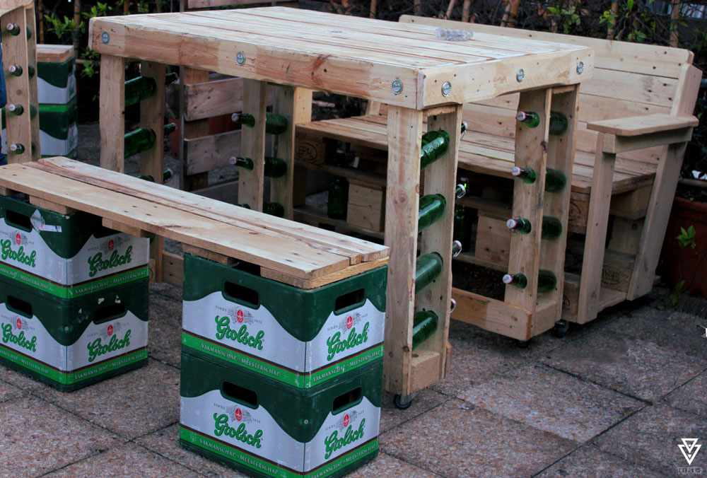 Tables Triple-D Grolsch