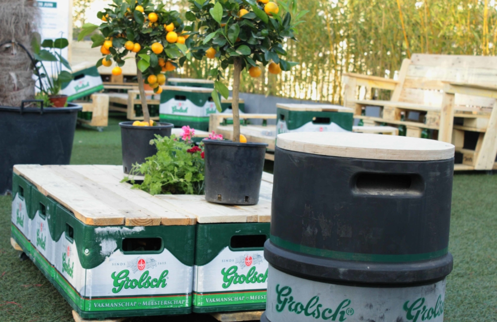 Grolsch Table