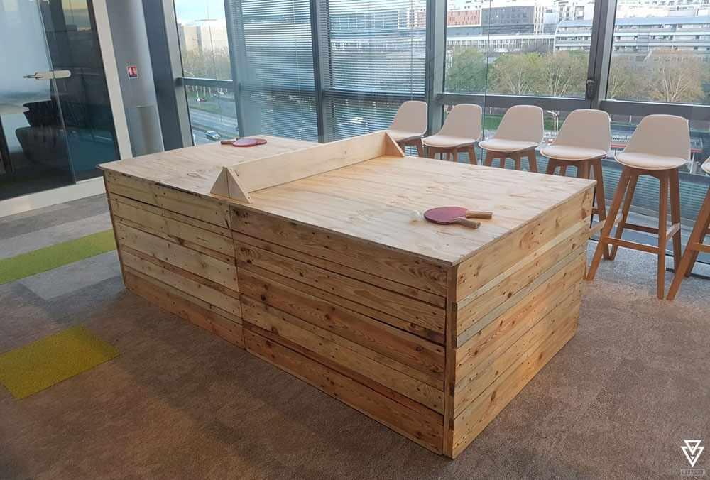 Jeux Triple-D Table de Ping Pong