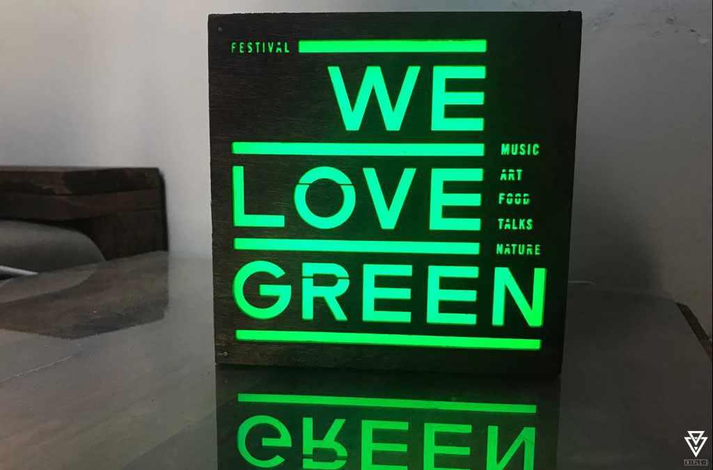 Signalétiques et Logos Triple-D We Love Green Festival