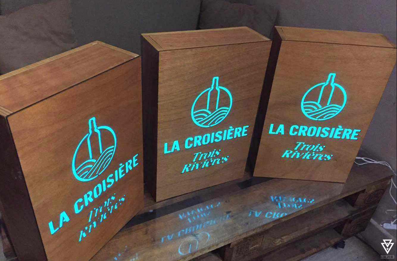 Signalétiques et Logos Triple-D Trois Rivières