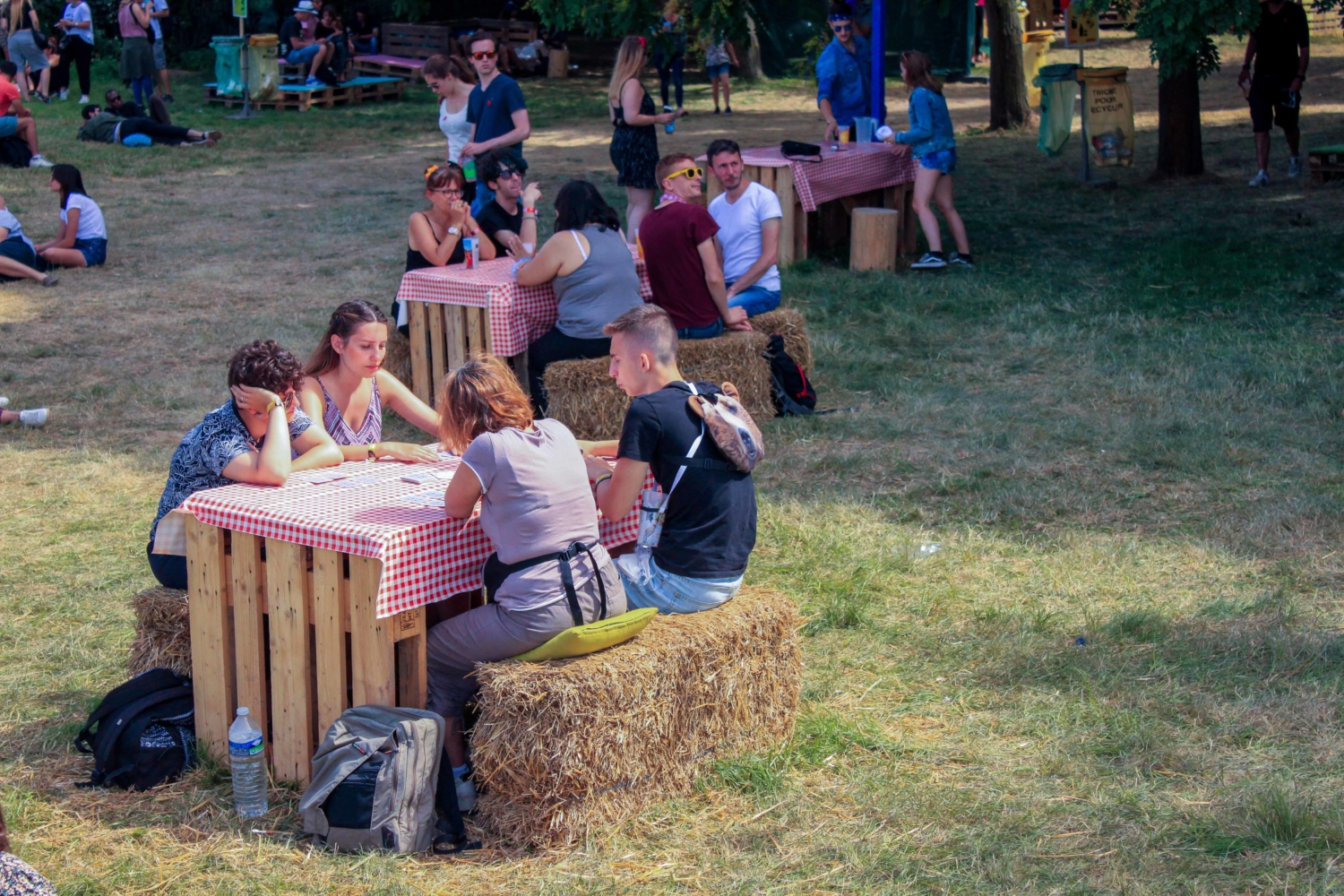 Solidays Tables