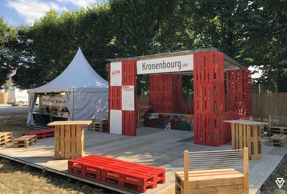 Stands Triple-D Kronenbourg