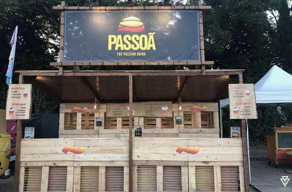 Bars et Back Bars Triple-D HLWN Agency x Passoã