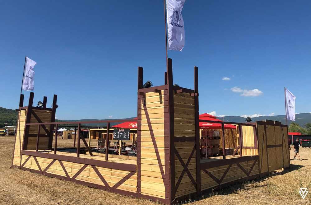 Stands Triple-D Insane festival