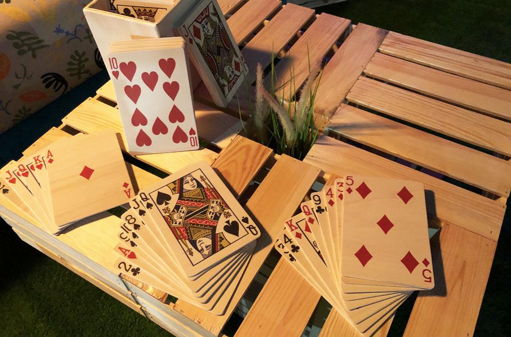 Jeux Triple-D jeu de cartes géant